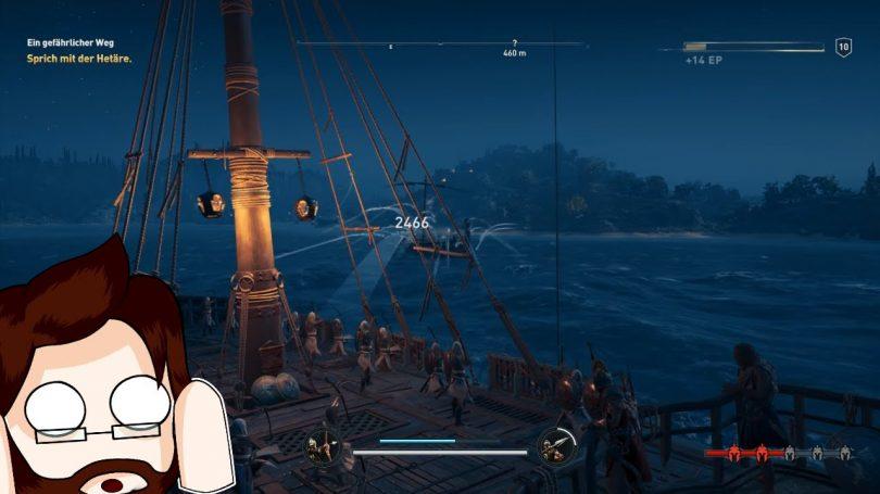 Assassins Creed Odyssey | Unerwartetes Seegefecht – #012 | Defender833