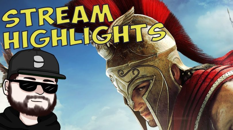 Assassins Creed Odyssey   Stream Highlights   edited by Fenris